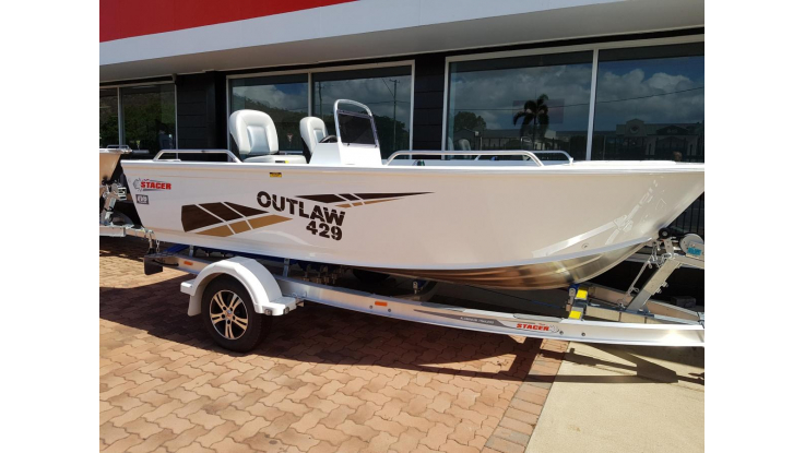 Stacer 429 Outlaw Side Console Motor Marine Services